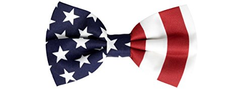 Oliver George American Flag Bow-Tie