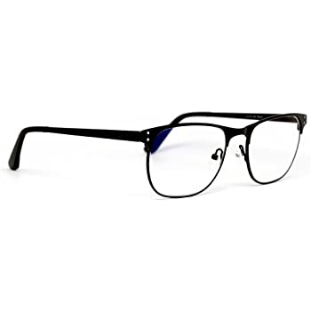 1411d028f8 Computer Glasses by Phonetic Eyewear Charlie in Black with Blue Light  Protection by Phonetic Eyewear