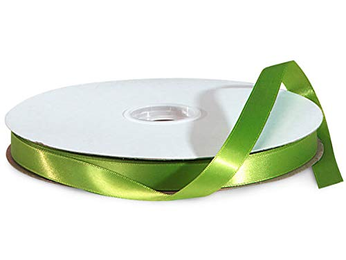 Kiwi Double Faced Satin Ribbon 5/8