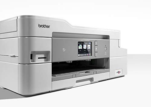 Brother MFC-J1300DW - Multifunción de Tinta Color All in Box (128 MB, WiFi, fax y Cartuchos de Alta Capacidad, LCD, USB 2.0 Hi-Speed, hasta 1.200 x 1.200 PPP, Bandeja de Entrada de 150 Hojas)
