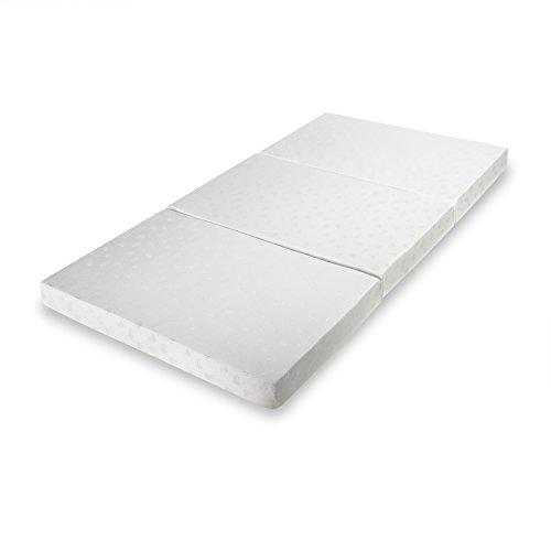 Zinus Sleep Master Memory Foam 4 Inch Tri Fold Comfort