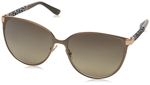 Jimmy Choo POSIE/S J9E6P (Grey - Leo with Black Gradient - Sunglasses Buy Choo Jimmy