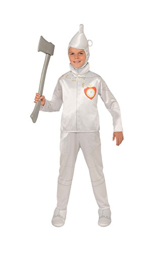 Wizard Of Oz Tin Man Costumes (Rubie's Kid's Wizard Of Oz Tin ManCostume, Large, Age 8 - 10 years, HEIGHT 4' 8