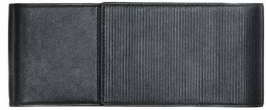 Price comparison product image Lamy Unisex Triple Soft Embossed Leather Pen Case - Black