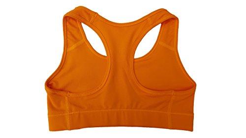 Nike Sport-BH Pro Victory Compression, Sujetador deportivo Para Mujer Vivid Orange
