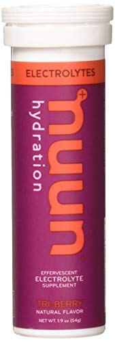 Nuun Active: Tri-Berry Electrolyte Enhanced Drink Tablets (3-Pack of 10 Tablets) Package may vary
