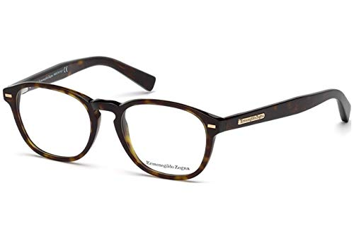 Ermenegildo Zegna EZ5057-052 Eyeglass Frame dark havana for sale  Delivered anywhere in USA