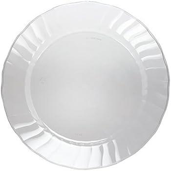 WNA wnaplates Cut Crystal Heavyweight Clear Plastic Party Plates 70 Count  sc 1 st  Amazon.com & Amazon.com: WNA wnaplates Cut Crystal Heavyweight Clear Plastic ...