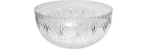 - Crystalware Maryland Plastics Crystal Cut Bowl, 12 quart, Clear