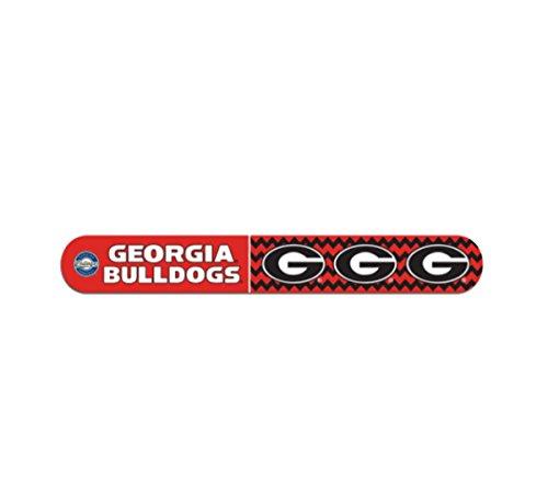 University of Georgia Bulldogs Nail File Red