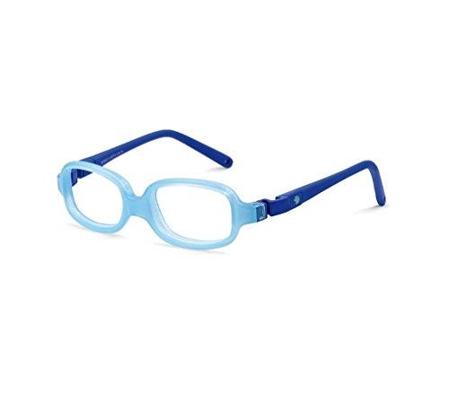 Nano Vista NV223243 Silicon Baby Eyeglasses azul transp./azul - Ray Eyeglasses Band