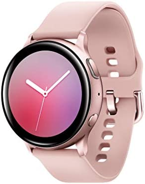Samsung Galaxy Watch Active 2 (40mm, GPS, Bluetooth) Smart Watch with Advanced Health Monitoring, Fitness Tracking, and Long lasting Battery, Pink Gold (US Version) 2