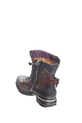 As98 Simon Kvinners Motorsykkel Boot Sjokolade