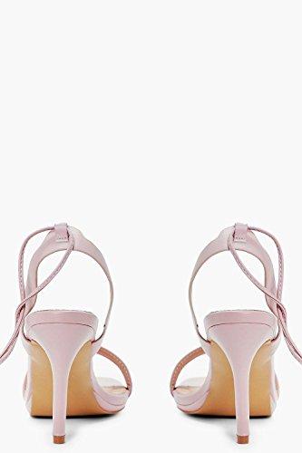 Erröten Damen Naomi Zweiteilige Sandalen Mit Weiter Passform Und Gewickelten Riemchen Erröten