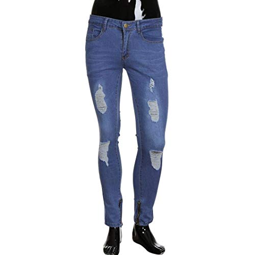 Distressed Tempo Fashion Casual Fit Torn Zipper Bianca Slim Uomo Stretch Nener Sfilacciato Men's Denim Biker Deim R Pants Battercake Libero Comodo Pantaloni Jeans tTHTz
