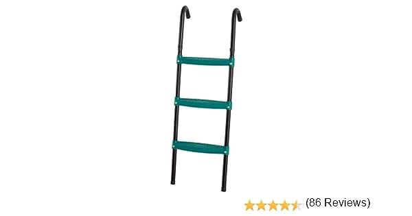 Upper Bounce UBLGFS3-42 Escalera Plegable para Cama elástica (42 Pulgadas), Color Verde, 107 cm: Amazon.es: Deportes y aire libre