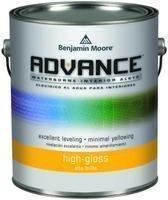Benjamin Moore Qt Advance Alkyd Interior High Gloss Paint ()