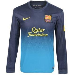 Nike Barcelona F.C. - Camiseta de fútbol de portero, manga larga, XXL