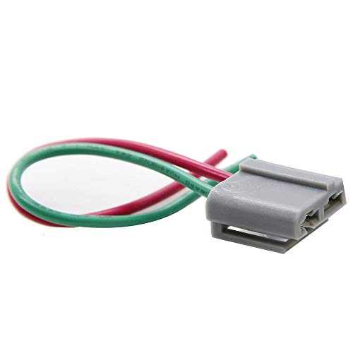 TOOGOO Best Dual Pigtail Wire Harness Connector GM HEI Coil in Cap Distributor 170072 ()