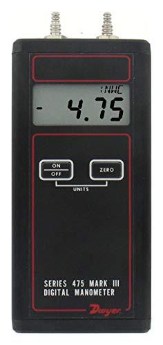 Dwyer 475-0-FM-B HVAC Manometers and Micromanometers - Type (Manometer): Digital ()