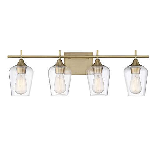 Savoy House Octave 4 Light Bath Bar 8-4030-4-322 in Warm -
