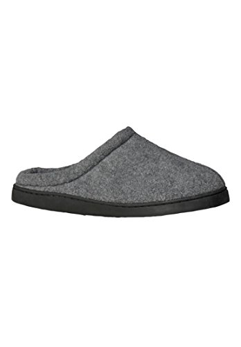 Kingsize Mens Fleece Slipper Clogs