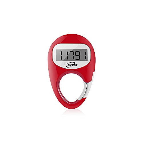 iGANK Simple Walking Pedometer Step Counter for Women Kids