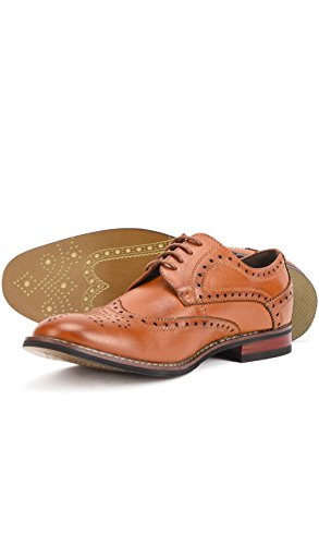 Reservoir Punta a Uomo Shoes Derbies Cammello Perm r4qwrAZx
