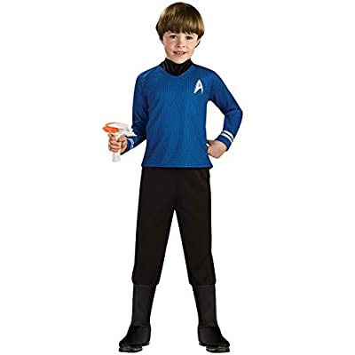 Star Trek into Darkness Deluxe Spock Costume, Small: Toys & Games