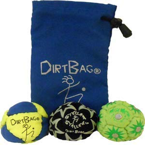 Dirtbag All Star 3 Pack - Fluorescent Yellow/Blue/Blue Pouch by Dirtbag