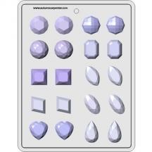 8H-5124 Gems Assortment 1 1/4