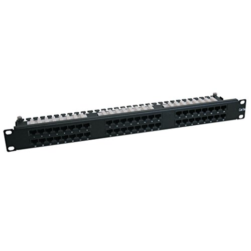 Tripp Lite 48-Port 1U Rackmount Cat6 110 High Density Patch Panel 568B, RJ45 (High Rackmount)