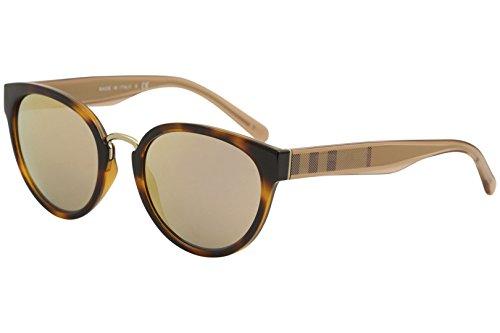 Burberry Cat Eye Sunglasses - Burberry BE4249 33164Z Light Havana BE4249