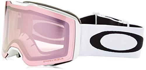 Oakley Fall Line Snow Goggles, Matte White Frame, Prizm High Intensity Pink Iridium Lens, Medium (Oakley Fällen)