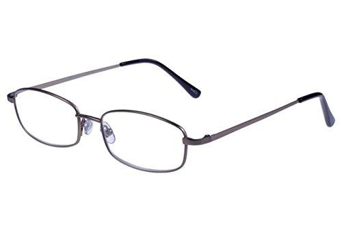 Foster Grant T19 GUN Men's Titanium Reading Glasses - Reading Titanium Glasses