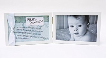 First Grandchild Gift for New Grandparents - Poetry - Frames New