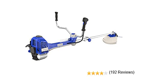 Hyundai HYBC5080AV Desbrozadora con Motor a 2 Tiempos Pro, Azul, 182 x 75 x 50 cm: Amazon.es: Bricolaje y herramientas