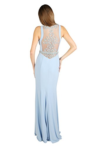 Damen Kleid Mythologie Blue Dynasty ohne Ice Stil 1022807 Coral Schal Lange Spirit 4Xd4qpwx