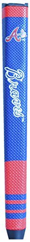 Team Golf MLB Atlanta Braves Golf Putter Grip with Removable Gel Top Ball Marker, Durable Wide Grip & Easy to Control