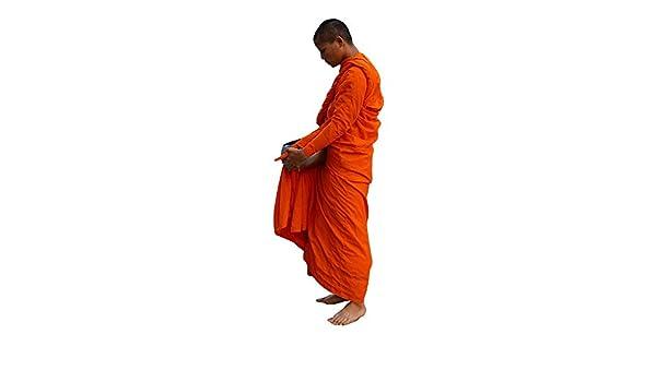 RaanPahMuang - Traje de Monje Budista tailandés para Adulto ...