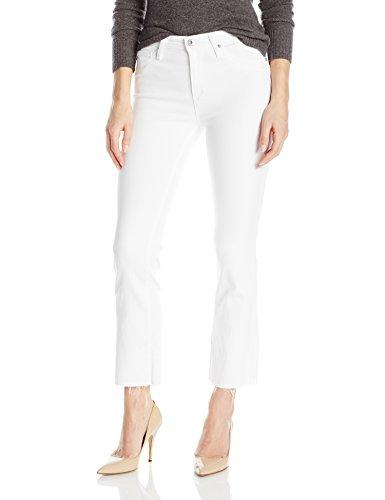 AG Adriano Goldschmied Women's Jodi Crop Jean, White, 28 ()