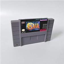 Game card - Game Cartridge 16 Bit SNES , Game Illusion of Gaia - RPG Game Cartridge Battery Save US Version