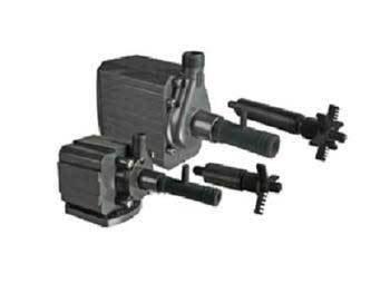 - Danner Supreme 06005 Model 5 Aqua-Mag Air Fractionating Water Pump 500 GPH - Adjustable Venturi, Aerating Impeller, Energy Efficiency, 10 Foot Cord, Muffler - Saltwater, Freshwater, Submerged, Inline