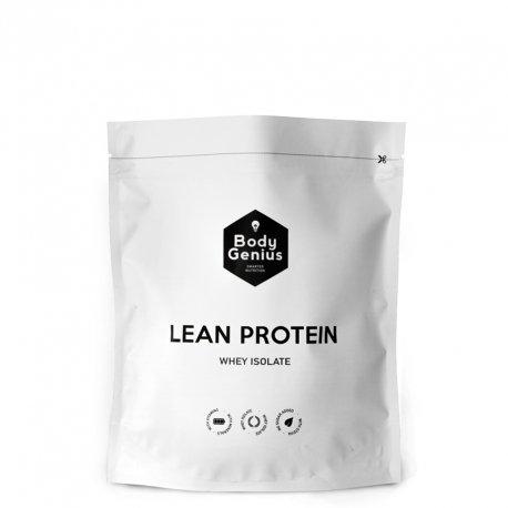 BODY GENIUS Lean Protein. Whey Isolate. Proteina en Polvo con Stevia. 500 gr