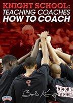 Bob Knight: Knight School: Teaching Coaches How To Coach (DVD) by Bob Knight by Championship Productions