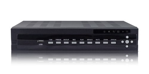 US421ZS Ultra High Resolutions 4 Channel H.264 Security DVR 120FPS D1/960H RealTime True Triplex audio & Video recording, Remote viewing & control, I-phone & Android App 1080P HDMI/VGA Output, NO Hard Drive -