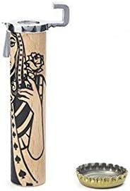 Kikkerland King Bottle Opener Brown