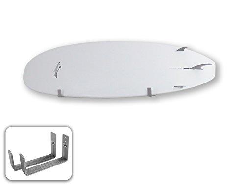 BPS Minimalist SUP Board Alloy Wall Rack - Ocean Grey (2018)