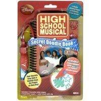 High School Musical Secret Doodle Book