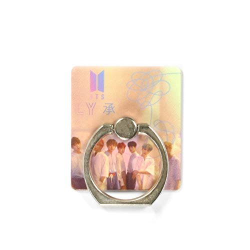 Fanstown Kpop Image Phone Finger Ring Holder & Stand,Grip Kickstand (BTS D) (Ring With Images)